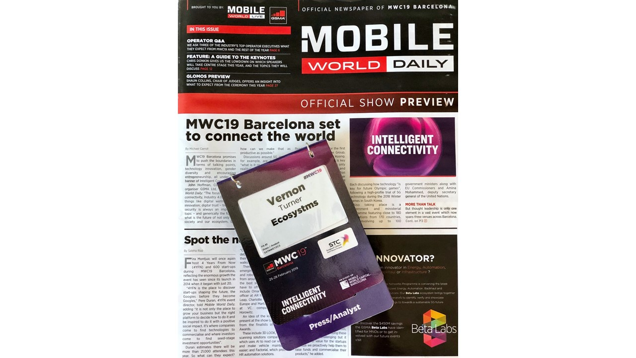 Pre MWC Thoughts On 5G