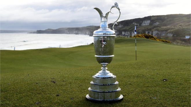 British Open Golf Royal Portrush