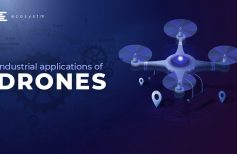Industrial applications of drones