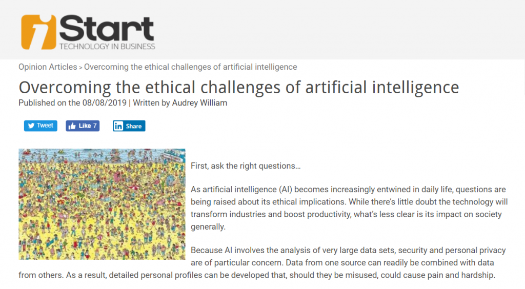 Overcoming ethical challenges of AI