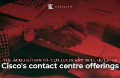 The acquisition of CloudCherry will bolster Cisco's contact centre offerings