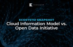 Ecosystm Snapshot: Cloud Information Model vs. Open Data Initiative