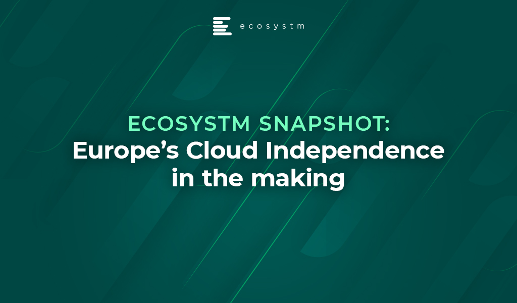 Ecosystm Snapshot Europe's Cloud Independence in the making