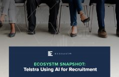 Telstra using AI for Recruitment