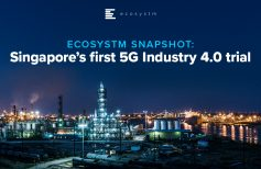 Singapore's first 5G Industry 4.0 trial
