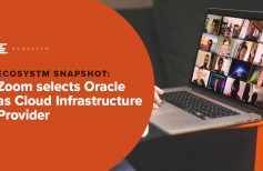 Zoom selects Oracle as Cloud Infrastructure Provider