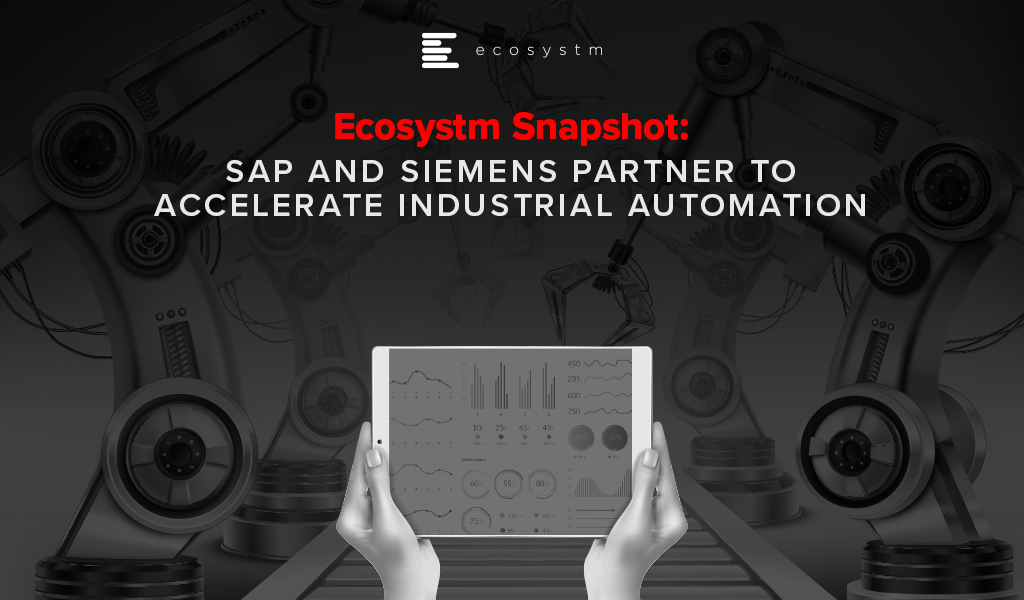 SAP and Siemens Partner to Accelerate Industrial Automation