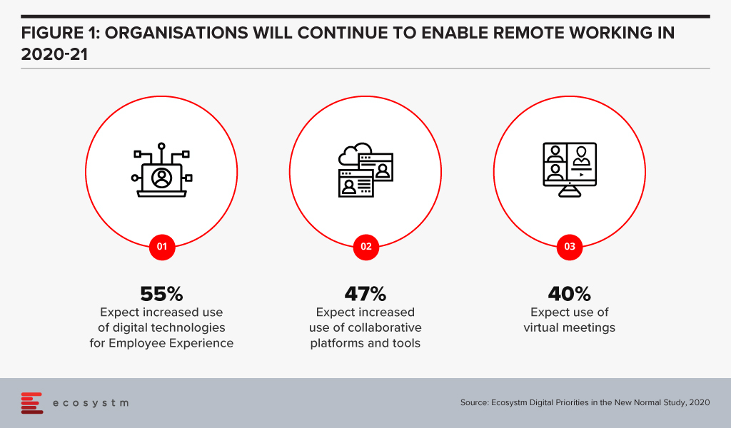 Organisations will continue to Enable Remote working 2020-21