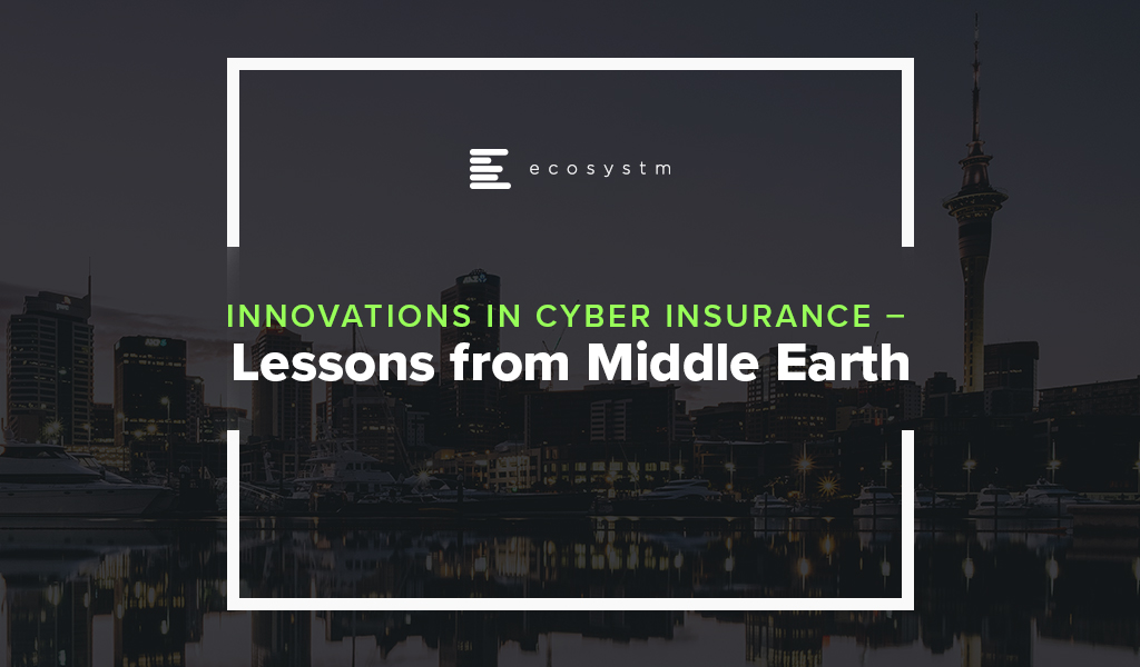 Innovations in Cyber Insurance - Lessons from Middle Earth