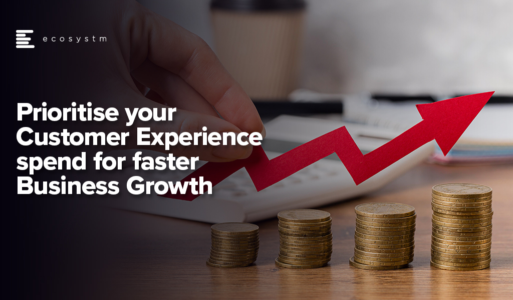 Prioritise your Customer Experience spend for faster Business Growth