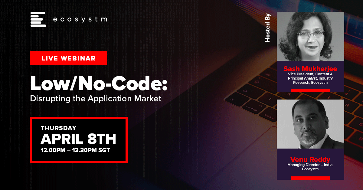 Low-Code No-Code Disrupting the Application Market_1200x628
